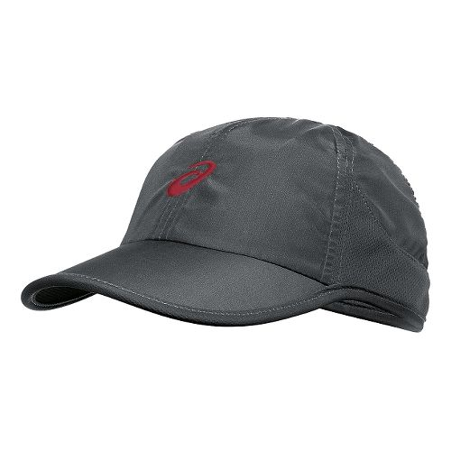 ASICS Mad Dash Cap Headwear - Dark Grey/Deep Ruby