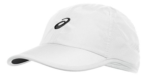 ASICS Mad Dash Cap Headwear - White/Black