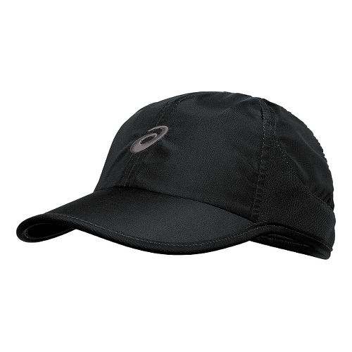 ASICS Mad Dash Cap Headwear - Black/Green Gecko