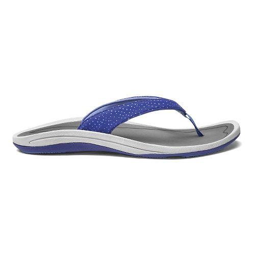Womens OluKai IA Sandals Shoe - Deep Violet/Charcoal 8