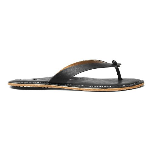 Womens OluKai Lii Sandals Shoe - Black/Black 8
