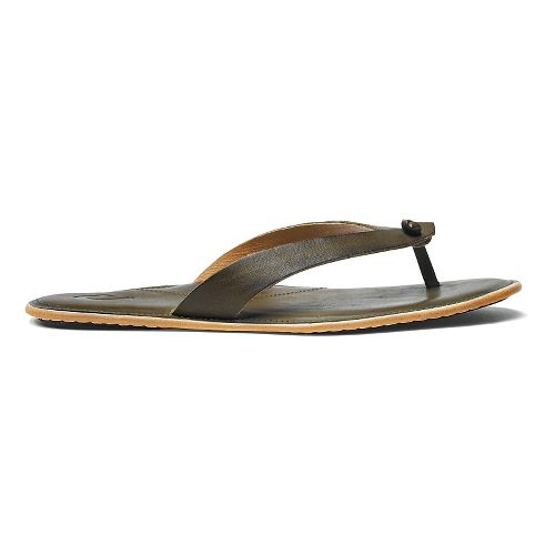 Womens OluKai Lii Sandals Shoe - Olive/Olive 7