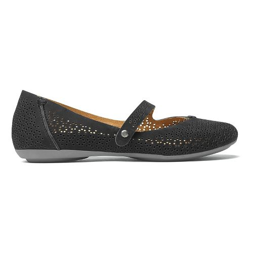 Womens OluKai Nene Perf Casual Shoe - Black/Black 5