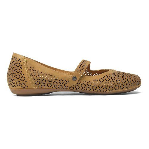 Womens OluKai Nene Perf Casual Shoe - Light Koa/Light Koa 6.5