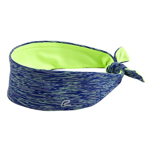 Womens R-Gear To-Tie-For Reversible Headband Headwear - Pacific Blue