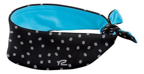 Womens R-Gear To-Tie-For Reversible Headband Headwear - Dot/Blue Lagoon