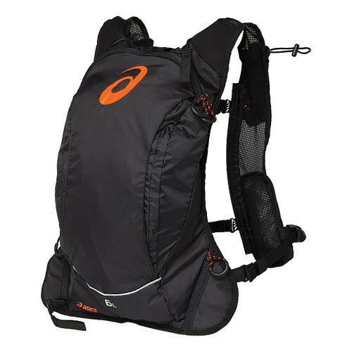 ASICS FujiTrail Backpack Hydration - Black/Shocking Orange