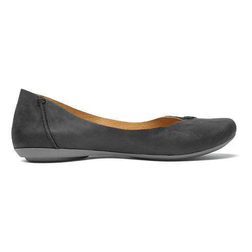Womens OluKai Pueo Casual Shoe - Black/Black 8.5