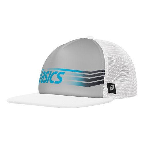 ASICS Sideswipe Trucker Headwear - Athletic Grey/White
