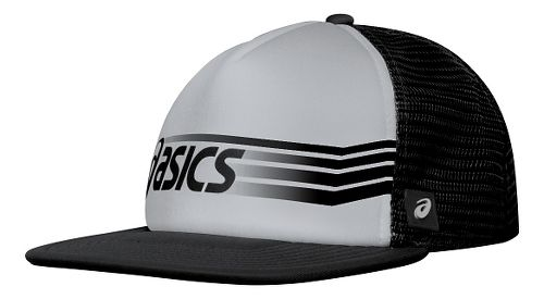 ASICS Sideswipe Trucker Headwear - Athletic Grey/Black