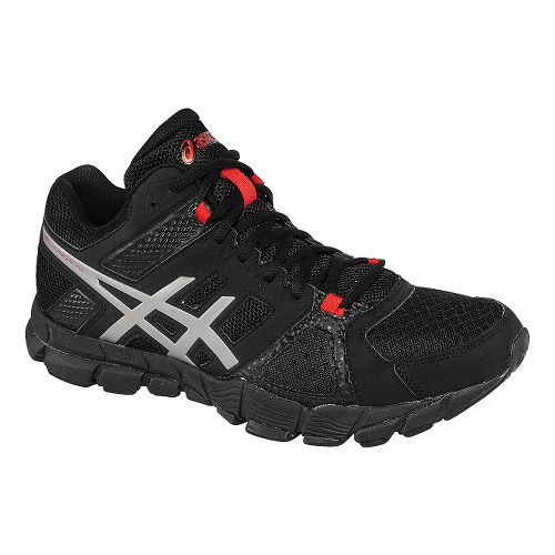 Mens ASICS GEL-Craze TR 2 Mid Cross Training Shoe - Black/Red Pepper 10