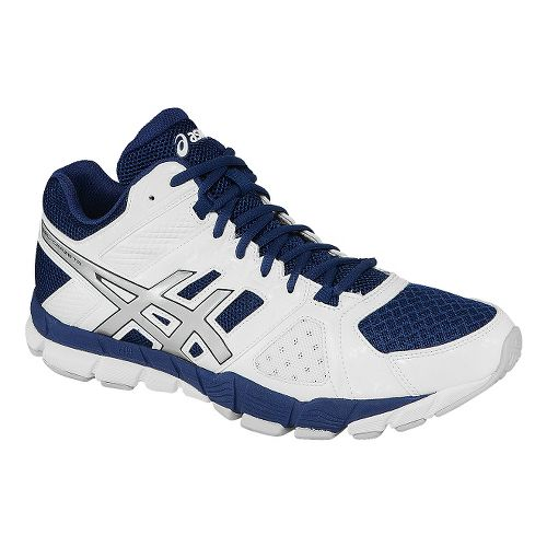 Mens ASICS GEL-Craze TR 2 Mid Cross Training Shoe - White/Midnight 10.5