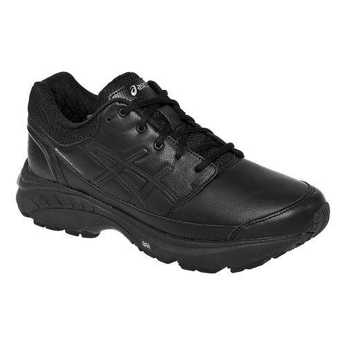 Womens ASICS GEL-Foundation Workplace Walking Shoe - Black 7.5