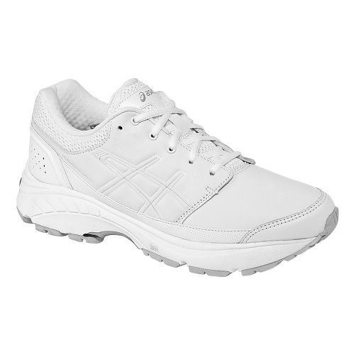 Womens ASICS GEL-Foundation Workplace Walking Shoe - White 8.5