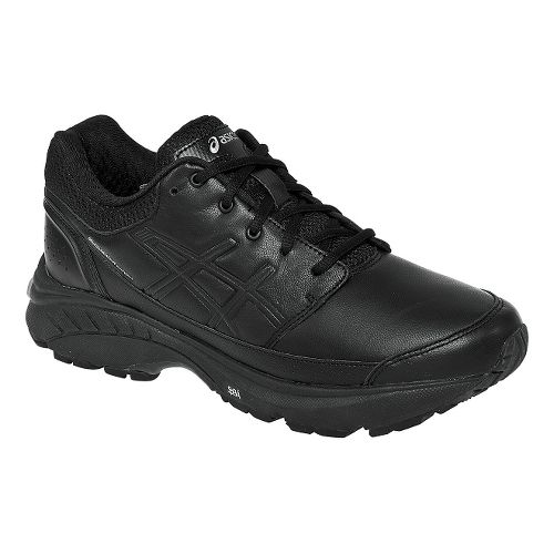 Womens ASICS GEL-Foundation Workplace Walking Shoe - Black 11.5