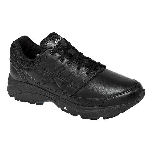 Mens ASICS GEL-Foundation Workplace Walking Shoe - Black 10.5