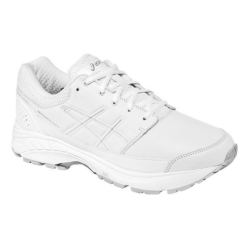Mens ASICS GEL-Foundation Workplace Walking Shoe - White 14