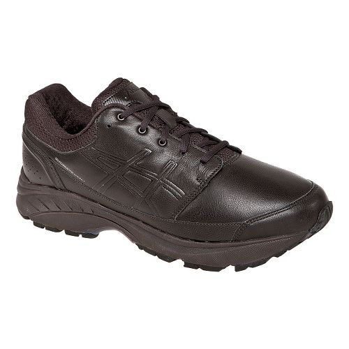 Mens ASICS GEL-Foundation Workplace Walking Shoe - Dark Brown 8