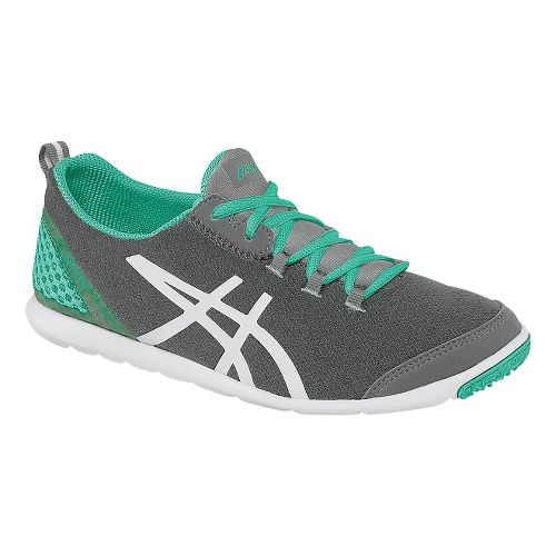 Womens ASICS MetroLyte Walking Shoe - Heather Grey/Mint 11.5
