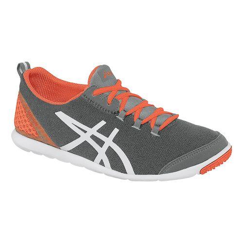 Womens ASICS MetroLyte Walking Shoe - Heather Grey/Coral 12