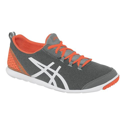 Womens ASICS MetroLyte Walking Shoe - Heather Grey/Coral 6.5