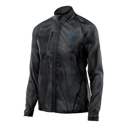 Womens ASICS Lightweight Jackets - Black Cloud L