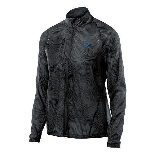 Womens ASICS Lightweight Jackets - Black Cloud XL