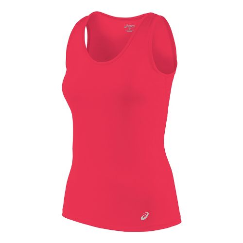 Womens ASICS Sleeveless & Tank Tops Technical Tops - Diva Pink L