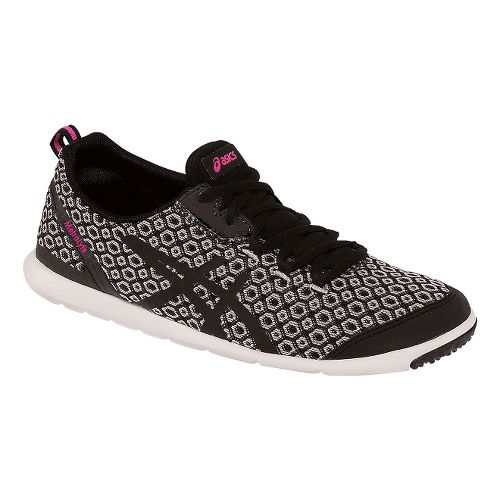 Womens ASICS MetroLyte Gem Walking Shoe - Black/Onyx 10.5