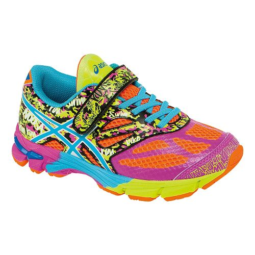 Kids ASICS GEL-Noosa Tri 10 PS Running Shoe - Coral/Turquoise 13