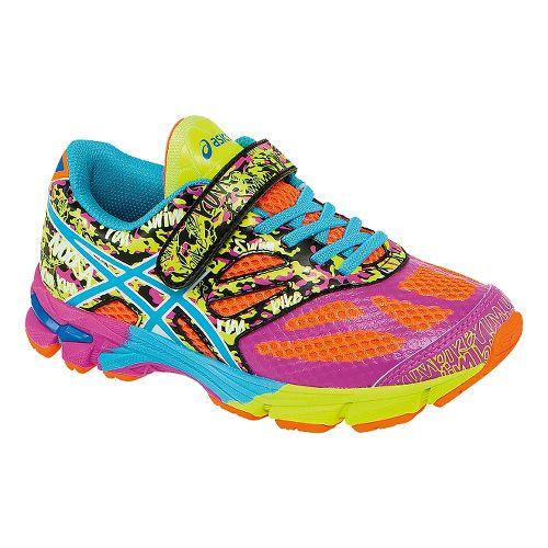 Kids ASICS GEL-Noosa Tri 10 Running Shoe - Coral/Turquoise 3Y