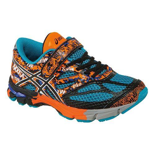 Kids ASICS GEL-Noosa Tri 10 PS Running Shoe - Enamel Blue/Black 1.5