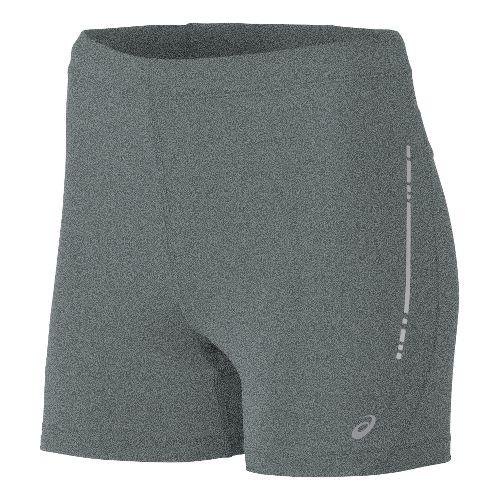 Womens ASICS Hot Pant Unlined Shorts - Grey Heather S