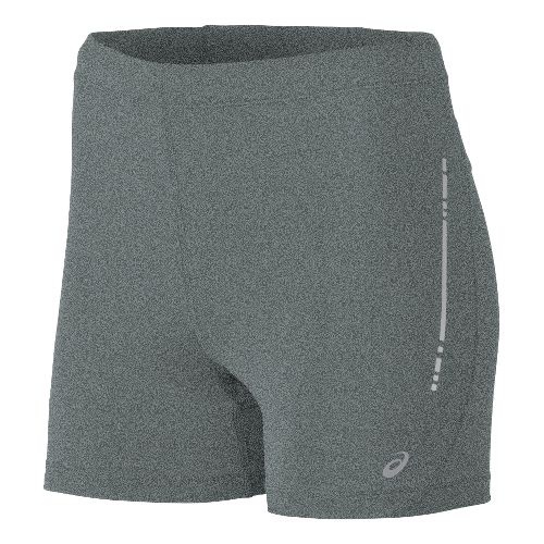 Womens ASICS Hot Pant Unlined Shorts - Grey Heather XS
