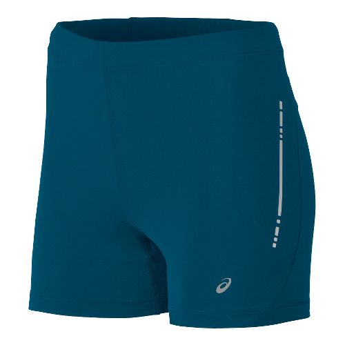 Womens ASICS Hot Pant Unlined Shorts - Teal L