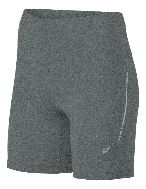 Womens ASICS Sprinter Unlined Shorts - Grey Heather M
