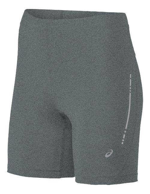 Womens ASICS Sprinter Unlined Shorts - Grey Heather XL
