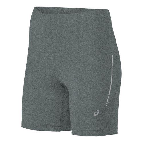 Womens ASICS Sprinter Unlined Shorts - Grey Heather L
