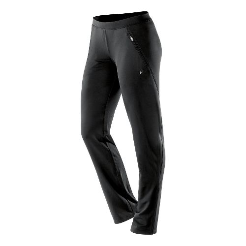 Womens ASICS Essentials Full Length Pants - Performance Black S-R