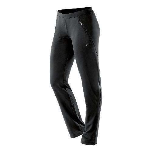 Womens ASICS Essentials Full Length Pants - Performance Black XL-R