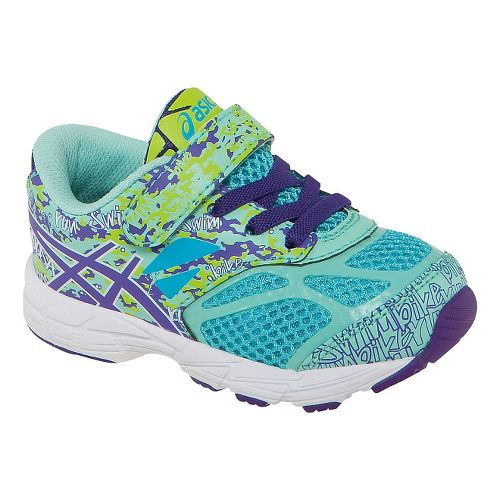 Kids ASICS Noosa Tri 10 TS Running Shoe - Turquoise/Grape 4