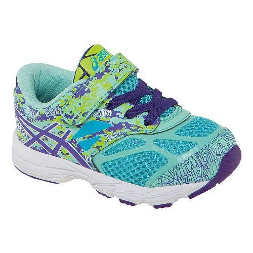 Kids ASICS Noosa Tri 10 Running Shoe - Turquoise/Grape 5C