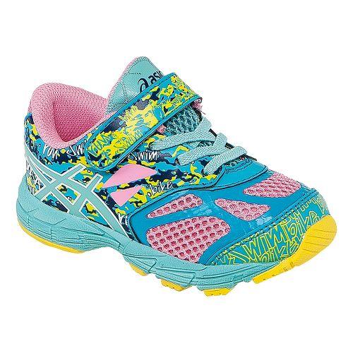 Kids ASICS Noosa Tri 10 TS Running Shoe - Candy Pink/Aqua 9