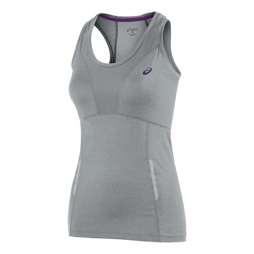 FujiTrail Sleeveless Tank Technical Tops - Heather Grey L