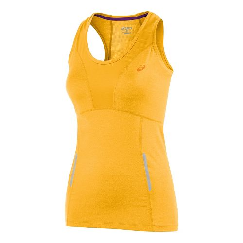 FujiTrail Sleeveless Tank Technical Tops - Fizzy Peach XL