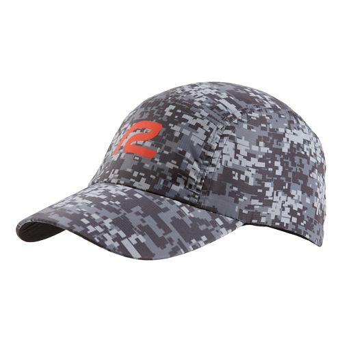 Mens R-Gear Fast Track Camo Cap Headwear - Steel/Black