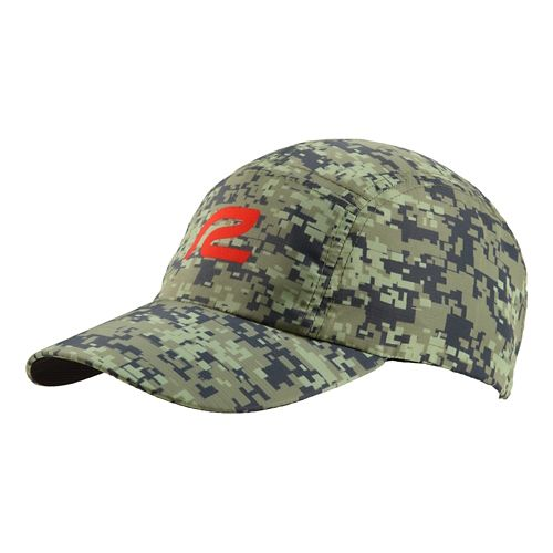 Mens R-Gear Fast Track Camo Cap Headwear - Olive/Charcoal