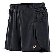 Womens ASICS FujiTrail Woven 4 Unlined Shorts