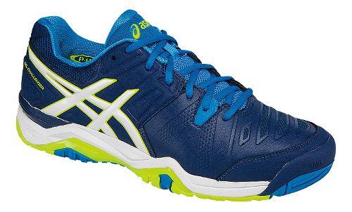 Mens ASICS GEL-Challenger 10 Court Shoe - Blue/White 11