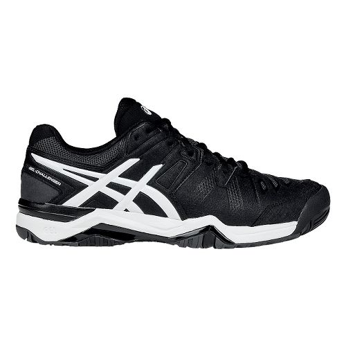 Mens ASICS GEL-Challenger 10 Court Shoe - White/Onyx 11.5